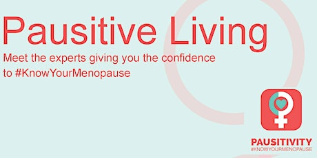Pausitive Living Go Live tickets