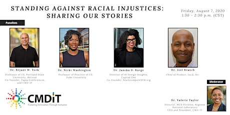 Standing Against Racial Injustices: Sharing Our Stories tickets