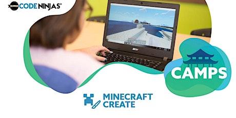 Minecraft Create with CODE NINJAS STAMFORD CT tickets