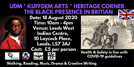 Children's Black Heritage Walk  with Kuffdem Arts & Heritage Corner tickets