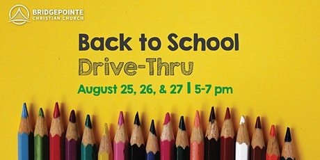Back to School Drive-Thru: Kent Heights/Myron J. Francis/Waddington tickets