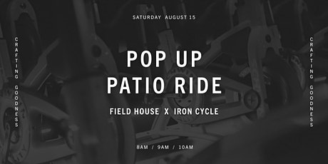 FH x Iron Cycle Club | Pop Up Patio Ride tickets