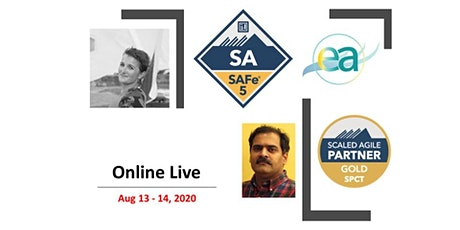Virtual Interactive -  SAFe 5.0  Leading SAFe (SA) tickets