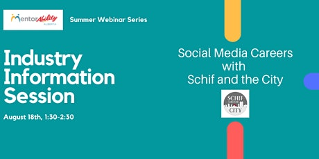 MentorAbility Industry Information Sessions  - Social Media tickets