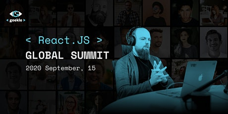 == React Global Online Summit - 2020 by Geekle == tickets