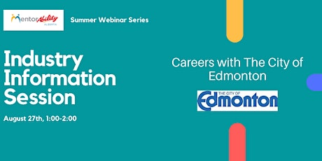 MentorAbility Information Session - The City Of Edmonton tickets