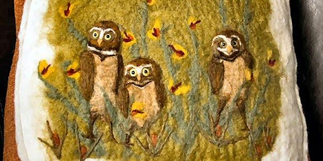 Painting With Felt Workshop: Sunday, Nov 1, 11:30am-3pm tickets