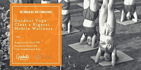 Rigazzi Yoga + Graduate Knoxville tickets