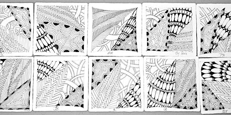 VIRTUAL ZENTANGLE DRAWING, Hosted by John Nordell tickets