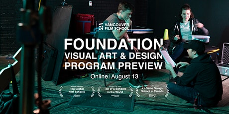 VFS Foundation Visual Art & Design Program Preview tickets