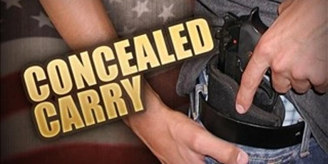 Concealed Weapons Permit Class tickets