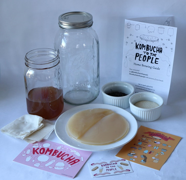 Virtual Kombucha Brewing Workshop + DIY Kit image