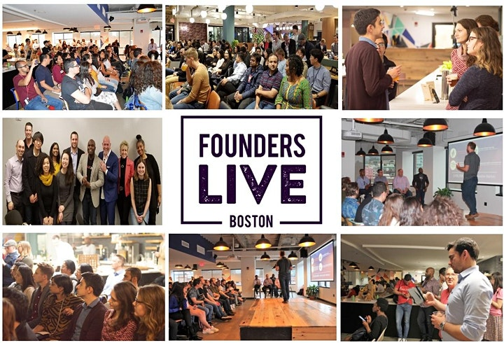 July VIRTUAL Founders Live Boston Startup Pitch Event. image