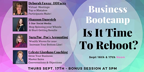 Business Bootcamp: Is It Time To Reboot? tickets