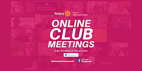 Online Club Meeting tickets