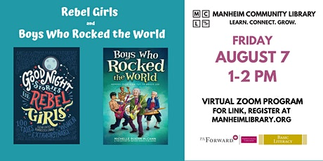 Rebel Girls and Boys Who Rocked the World - Virtual Zoom Program tickets