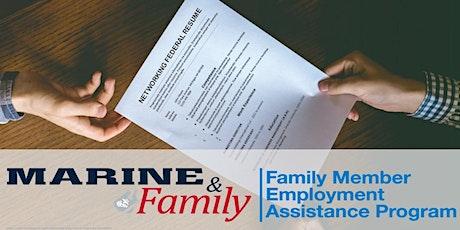 Webinar - Networking Federal Resume tickets