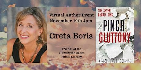 Virtual Author Event with Greta Boris tickets
