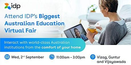 Attend Australian Education Virtual Fair in  Vizag,Guntur and Vijayawada tickets