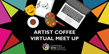 Artist Coffee - Virtual Meet Up tickets