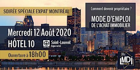 Expat' Montréal : Comment devenir propriétaire ? 11ème édition tickets