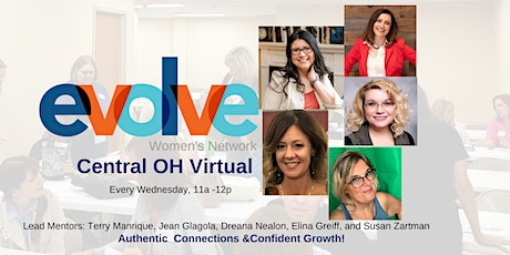 Evolve Central OH Virtual Networking tickets