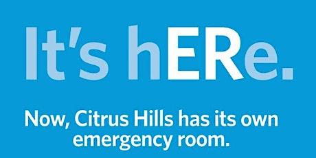 Bayfront Health ER Citrus Hills Virtual Open House tickets