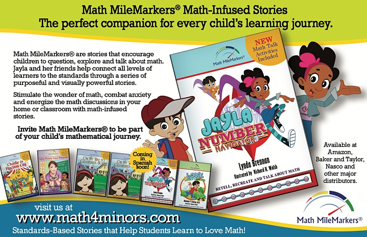 Math Storytelling: Professional Learning Network for Elem Math Enthusiasts image