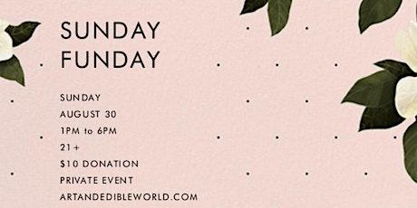 Art & Edible World Sunday Funday tickets