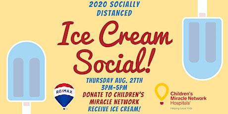 Socially Distanced Ice Cream Social tickets