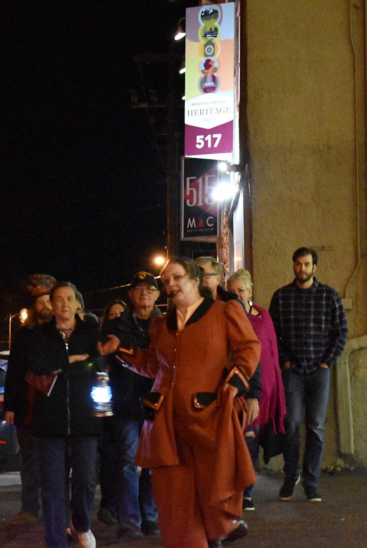 Ghost Stories of Old Manitou Walking Tours 2020 image