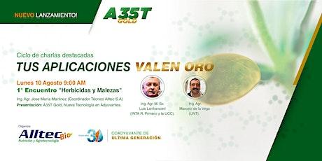 """1° Encuentro: """"Herbicidas y Malezas"""" ALLTEC entradas"""