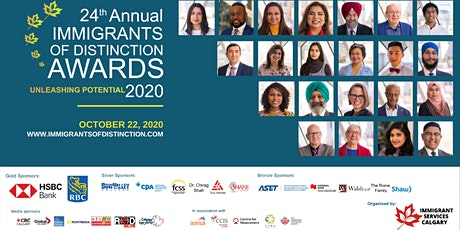 2020 Immigrants of Distinction Awards Virtual Celebration tickets