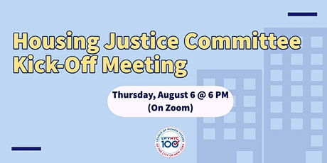 LWVNYC Housing Justice Committee Kickoff Meeting tickets