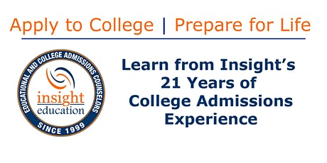 The Art of College Admissions tickets