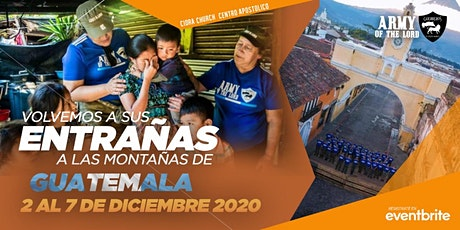 ARMY OF THE LORD GUATEMALA 2020/Escuela Evangelism boletos