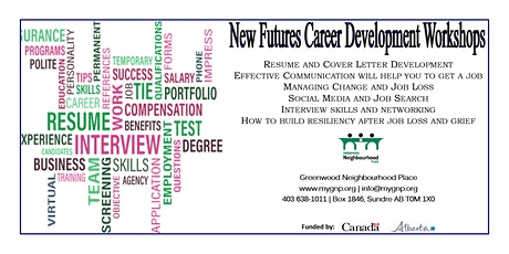 New Futures Resume Development and Cover Letters tickets