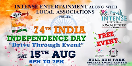 India Independence Day Drive Thru Event tickets