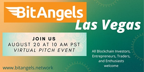 BitAngels Las Vegas Virtual Event (August 2020) biglietti