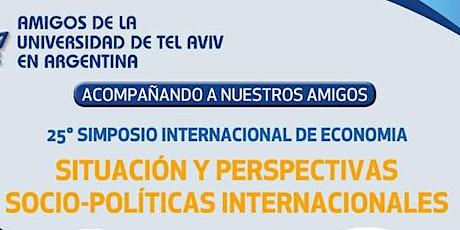25° SIMPOSIO INTERNACIONAL DE ECONOMÍA: Quinta sesión entradas