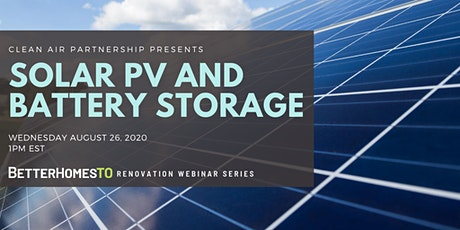 Solar PV and Battery Storage tickets