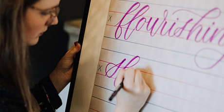 INTERMEDIATE Modern Calligraphy: Online Workshop! tickets