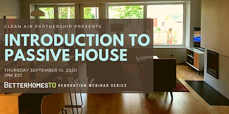 Introduction to Passive House tickets