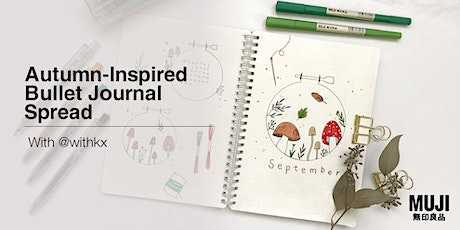 Autumn-Inspired Bullet Journal Spread with @withkx tickets