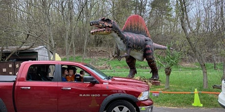 Dinosaur Drive-Thru:  Saturday August 15th   - COVID 19 Safe tickets