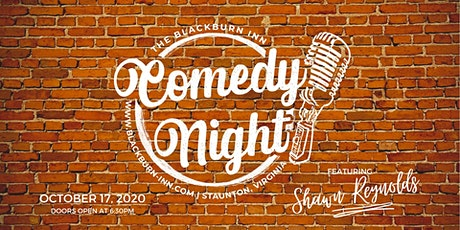 Comedy Night at The Blackburn Inn & Conference Center tickets