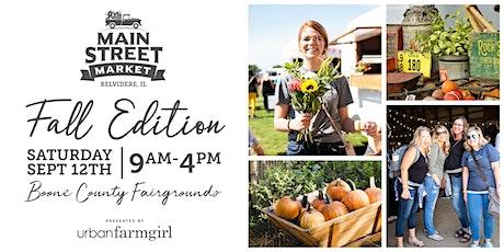 Urban Farmgirl's Main Street Market tickets