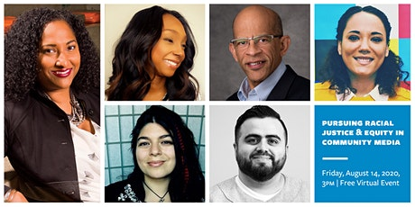 Pursuing Racial Justice & Equity in Community Media tickets