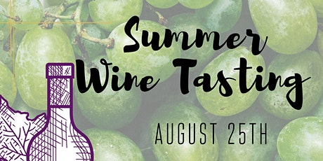 Summer Wine Tasting #2 tickets