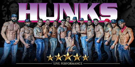 HUNKS The Show at Reverb Nightclub (Reading, PA) tickets